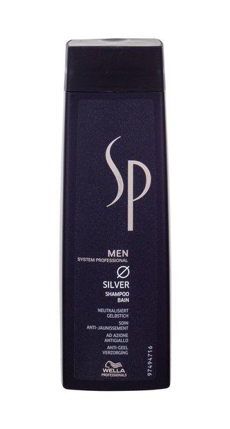 Wella SP Men Silver Shampoo Šampon za sijedu kosu za muškarce 250 ml