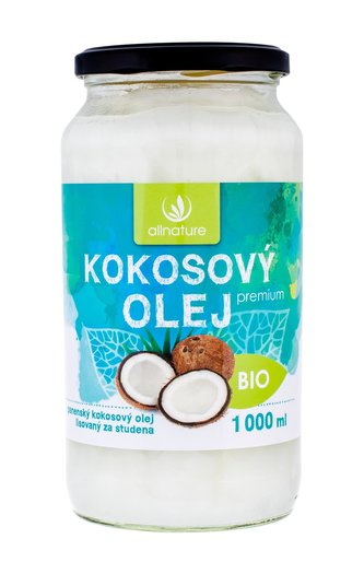 Sonnenmacht Premium Bio Coconut Oil 1000 ml Kokosový olej