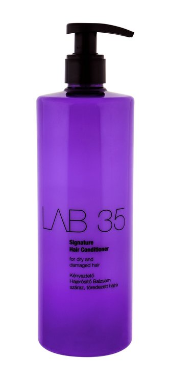 Kallos Lab 35 Signature Conditioner 500 ml Kondicioner pro suché a poškozené vlasy