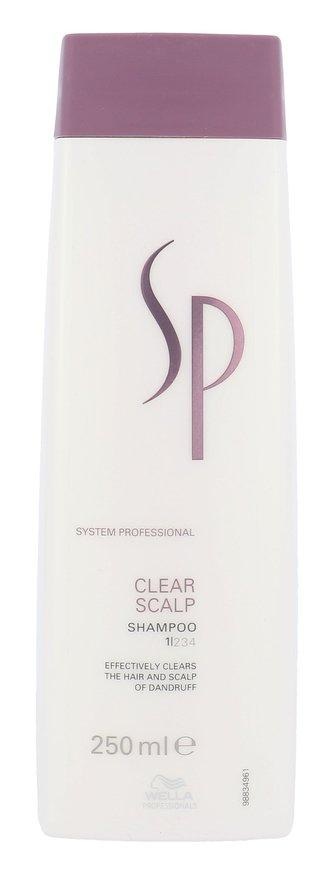 Wella SP Clear Scalp Shampoo 250 ml Šampon proti lupům